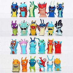 24pcs+/+set+5+centímetros+cartoon+slugterra+presentes+mini-pvc+brinquedos+bonecas+bonecos+brinquedos+criança+–+BRL+R$+57,11