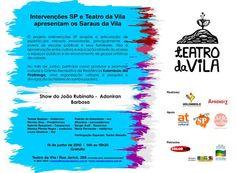 Com participação especial de Toinho Melodia, a apresentação terá 12 músicas do cantor e compositor Adoniran Barbosa.