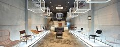 Yamakawa Rattan showroom by Sidharta Architect, Jakarta store design | Shopping for chairs can be this tasteful