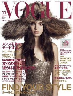 Kendall Jenner Vogue Japan November 2015 #Cover
