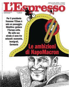 La copertina dell'Espresso in edicola da domenica 9 luglio
