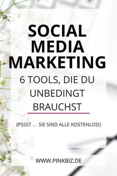 Tools, um dein Blog Business zu vermarkten • 6 Power-Tools für dein Social-Media-Marketing. Sie sparen dir Zeit, Energie und Nerven. Und das Beste: Sie sind alle kostenlos!