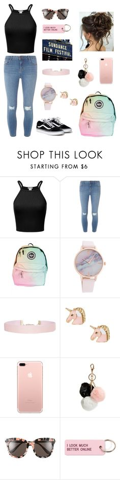 """""""you promised"""" by emilyylurk ❤ liked on Polyvore featuring Dorothy Perkins, Humble Chic, GUESS, Gentle Monster and Various Projects"""