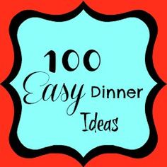 Cheap Quick Easy Dinner Recipes, Quick Dinner Recipes