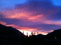 Canmore - Sunrise