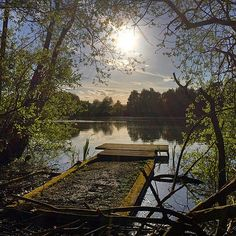 https://flic.kr/p/sZEMn5 | Evening sun over pond. Taken during this evenings run. We seem to do a lot of stop start running while we travel. Might not be back this way again so best to take the photos while we can. #upsticksngo #travel #photooftheday #evening #sun