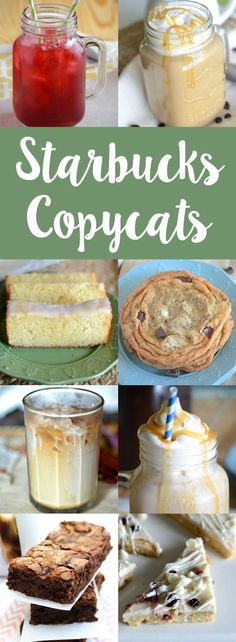 Love Starbucks Here are over 21 homemade Starbucks recipes for you to try!(Food Recipes To Try) Homemade Starbucks Recipes, Copycat Recipes Desserts, Copykat Recipes, Dessert Recipes, Cooking Recipes, Disney Recipes, Yummy Recipes, Yummy Drinks, Xmas