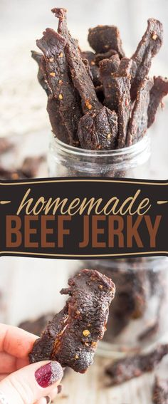 Make your own All Natural Hot and Spicy Homemade Beef Jerky - no nasties, no chemicals and no dehydrator required. You'll never want store-bought ever again