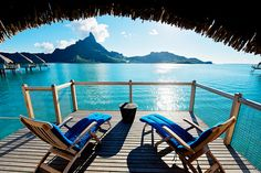 bora bora. want to be there.