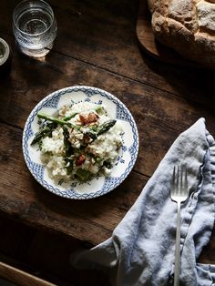 Asparagus Risotto with Vanilla Bean and Lime Stock — The Design Files | Australia's most popular design blog.
