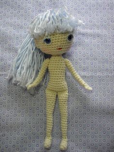 By Hook, By Hand: Free Spirit Amigurumi Doll Pattern