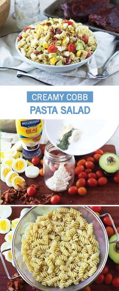 No graduation party would be complete without a delicious spread! Check out this recipe for Creamy Cobb Pasta Salad to whip up a flavorful side dish just in time for all your summer celebrations. Did we mention that this dish features homemade ranch dressing, hard-boiled eggs, avocado, tomatoes, bacon, and blue cheese?!