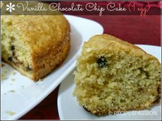 Vanilla chocolate chip cake  This is truly a special cake recipe in sense it is baked with only 1 egg. The cake size was almost 9x9 beautifully raised. No use of Baking soda but ENO and baking powder. I really loved its taste little bit tangy and sweet.