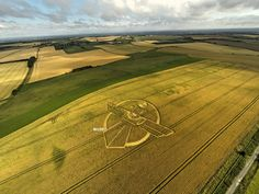 Crop Circle at Uffcott Down, nr Barbury Castle, Wiltshire. (near Hackpen Hill) - Reported 25th July 2015
