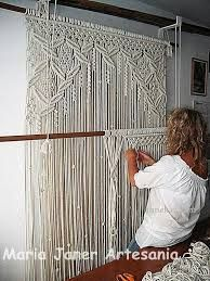 Image result for macrame door curtain