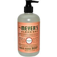 Mrs. Meyers Clean Day, Liquid Hand Soap, Geranium Scent, 12.5 fl oz (370 ml) - iHerb.com