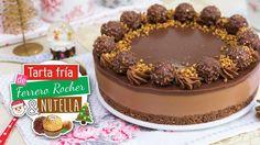 Tarta de Ferrero Rocher y Nutella sin horno | Especial Navidad | Quiero ...