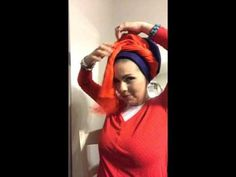 Today's Tichel Tutorial! - YouTube