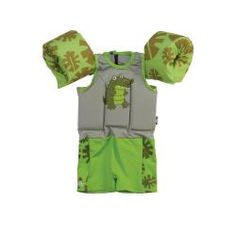 @Overstock.com - Coleman Children's Boy Aligator Puddle Jumper Kids Suit Life Jacket - Bring safety to your familys swimming outings with this green childrens life jacket. Made from woven polyester and spandex, this lifejacket features a playful alligator design and a back zipper closure for convenient use and removal.    http://www.overstock.com/Sports-Toys/Coleman-Childrens-Boy-Aligator-Puddle-Jumper-Kids-Suit-Life-Jacket/5848069/product.html?CID=214117  $31.99