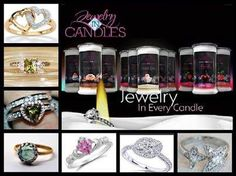 ~ Great for Holiday Gifts 2 in 1 ~ ~ 20% Discount on Jewelry in Candles ~ https://www.jewelryincandles.com/store/kaelajones