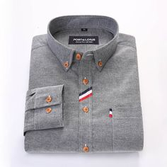 Would you buy this Port&Lotus Men Sl...? Available now at DIGDU http://www.digdu.com/products/port-lotus-men-slim-fit-shirt-oxford-long-sleeve-mens-casual-shirts-brand-clothing-male-clothing-1?utm_campaign=social_autopilot&utm_source=pin&utm_medium=pin