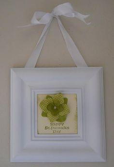 St. Patrick's Day Frame!