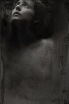 ☾ Midnight Dreams ☽ dreamy dramatic black and white photography - Katia Chausheva
