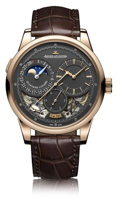 Jaeger-LeCoultre Duomètre Watches With Magnetite Grey Dials Watch Releases