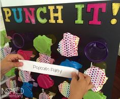 I am so excited to share this FUN and MOTIVATIONAL classroom incentive board…PUNCH IT! This board is super easy to make, only requiring a few tools. Behavior Bulletin Boards, Elementary Bulletin Boards, Interactive Bulletin Boards, Classroom Behavior, Future Classroom, School Classroom, Kindness Bulletin Board, Classroom Incentives, Classroom Activities