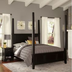 Bedford Four Poster 2 Piece Bedroom Collection Size: King - http://delanico.com/bedroom-sets/bedford-four-poster-2-piece-bedroom-collection-size-king-510489308/