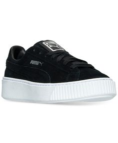 ef01dbd4983f48 Puma Women s Suede Platform Casual Sneakers from Finish Line Shoes - Finish  Line Athletic Sneakers - Macy s