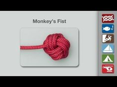 Monkey's Fist | How to tie the Monkey's Fist | Decorative Knots
