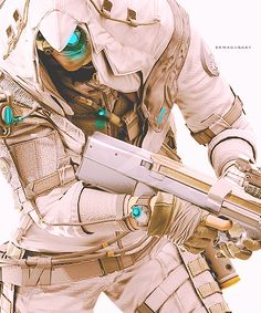 Pinned as future tech? I think this is concept art for a future assassin's creed