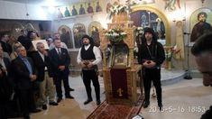 Η Ιερά Εικόνα της Παναγίας Σουμελάς στον Ιερό Ναό της Αναλήψεως στην Πολίχνη