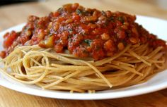 Spaghetti with Red Sauce
