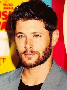 Jensen and his ginger beard....G.I.N.G.E.R.
