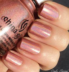 Nail polish art design
