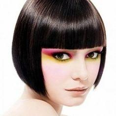 Peinados con flequillo: 69 fotos