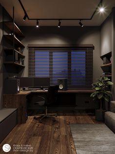 Home Studio Setup, Home Office Setup, Home Office Space, Desk Setup, Office Ideas, Small Room Design, Home Room Design, Design Homes, Design Bedroom