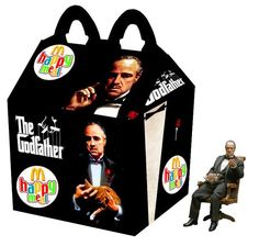 """""""The Godfather"""" Happy Meal"""