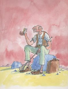 The BFG - Roald Dahl. Right now me and BF are reading the BFG. At the end of a chapter the giant calls Sofia ''baberottola'' and BAM! Bf started calling me that. I knew it was going to happen xD
