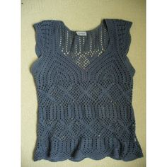 0 Love Crochet, Crochet Top, Polyvore, Tops, Women, Fashion, Moda, Fashion Styles, Fashion Illustrations
