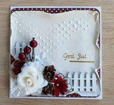 #mixedmedia #handmade #Christmas #cards #Christmascards #vintage #classic #julekort