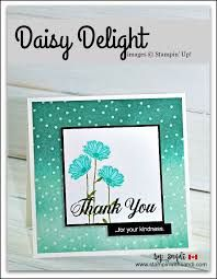 Sandi MacIver - card maker and designer - shares Daisy Delight Thank you, a quick 10 minute or less card for this weeks Freshly Made Sketches Challenge Daisy Delight Stampin' Up, Karten Diy, Get Well Cards, Card Maker, Flower Cards, Kids Cards, Greeting Cards Handmade, Homemade Cards, Stampin Up Cards