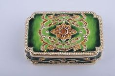 Austrian Crystal Trinket Boxes | Trinket-box-by-Keren-Kopal-Austrian-Crystal-Jewelry-box-Faberge