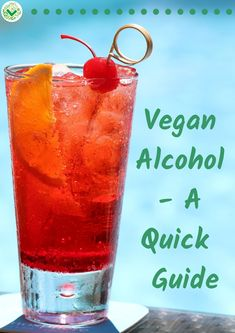 Vegan Alcohol – A Quick And Easy Guide. Did you know that some alcohol isn't vegan? You can read this in 5 minutes as a quick intro to buying cruelty-free alcoholic drinks. There's vegan beer, vegan… Healthy Eating Tips, Healthy Drinks, Detox Drinks, Clean Eating, Plant Based Diet, Plant Based Recipes, Vegan Recipes Easy, Whole Food Recipes, Free Recipes
