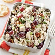 Poppy Seed Chicken Salad our-best-spring-recipes