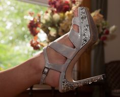 Silver Wedding Shoes!