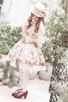 Sweet lolita. Country lolita