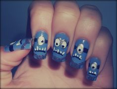 minion nails | Recent Photos The Commons Getty Collection Galleries World Map App ...